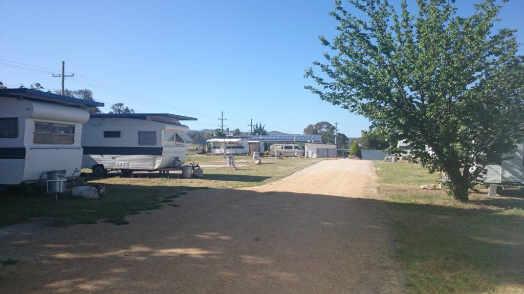 スタンソープのキャンプサイト