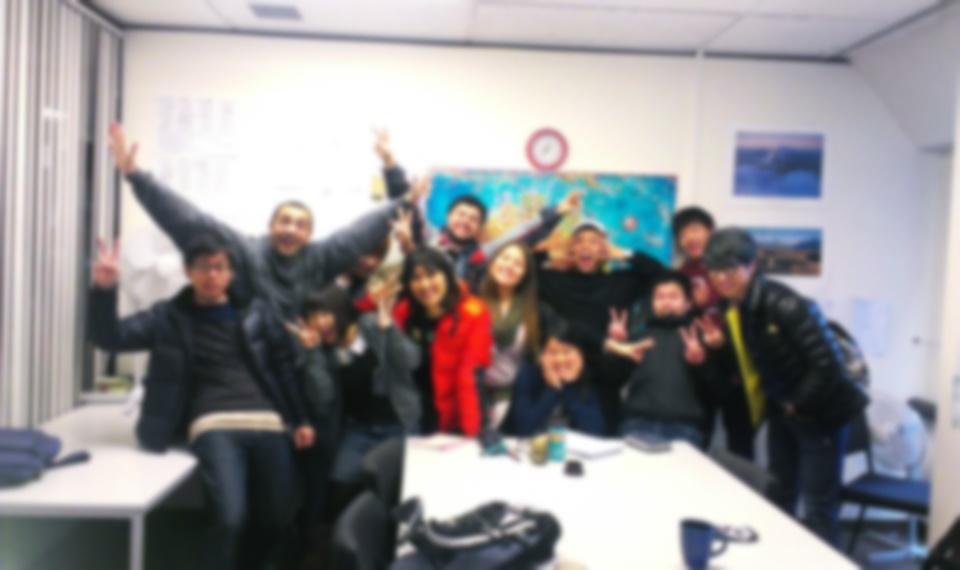 語学学校のクラスメイト