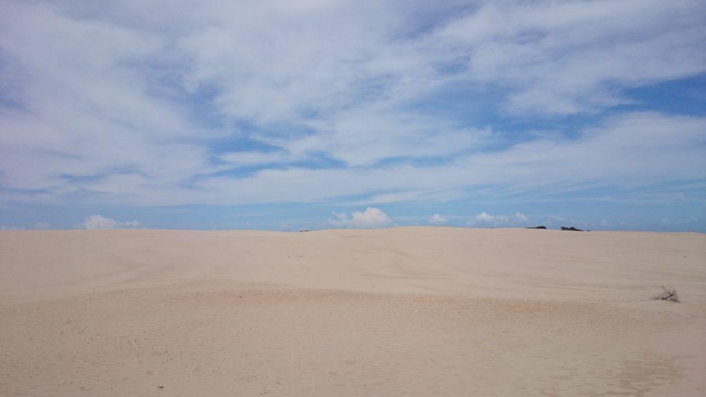 マンゴブラッシュ砂丘