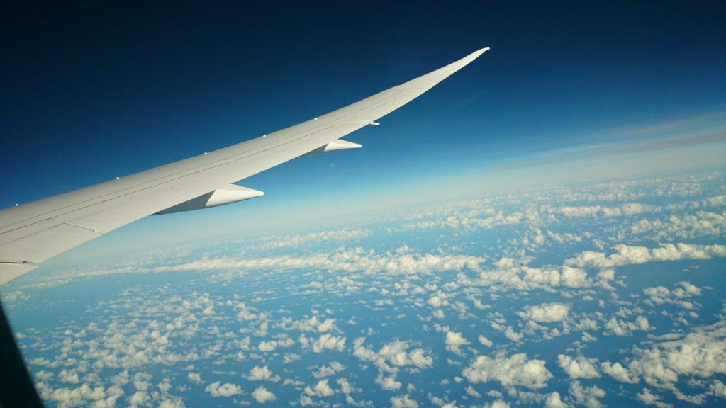 オーストラリアへのフライト