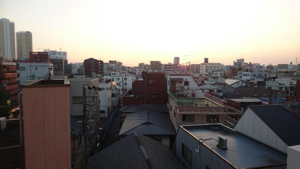 日本帰国後の風景
