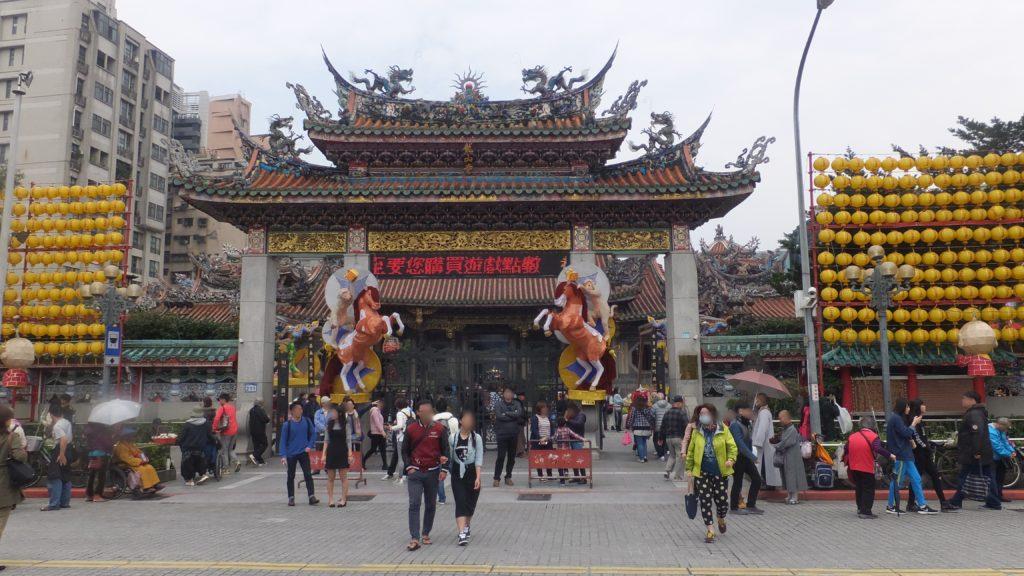 龍山寺の写真