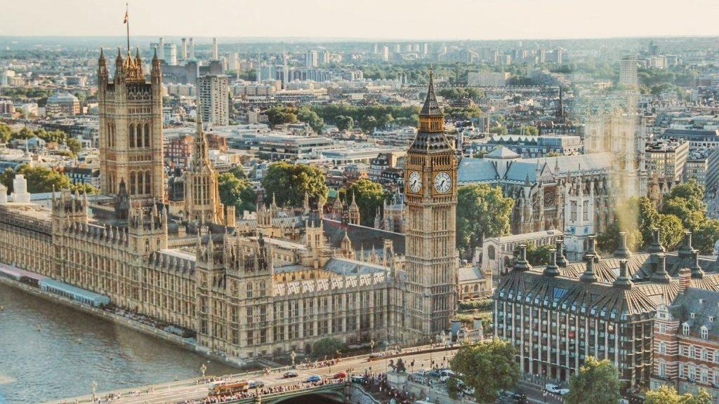イギリス・ロンドンの町並み